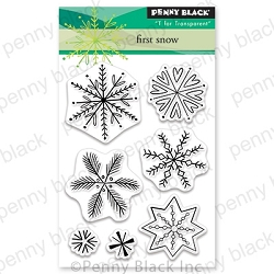 Penny Black - Clear Stamp - First Snow