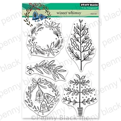 Penny Black - Clear Stamp - Winter Whimsy