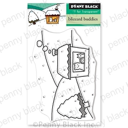 Penny Black - Clear Stamp - Blizzard Buddies