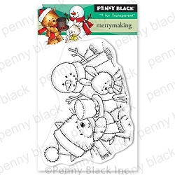 Penny Black - Clear Stamp - Merry Making