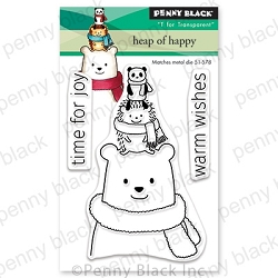 Penny Black - Clear Stamp - Heaps of Happy