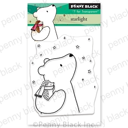 Penny Black - Clear Stamp - Starlight