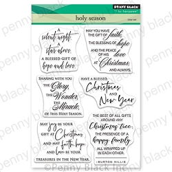 Penny Black - Clear Stamp - Holy Season