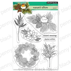 Penny Black - Clear Stamp - Nature's Allure