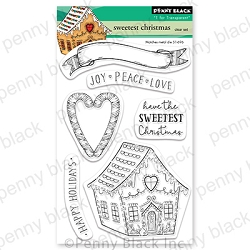 Penny Black - Clear Stamp - Sweetest Christmas