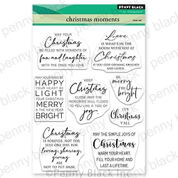 Penny Black - Clear Stamp - christmas moments