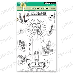 Penny Black - Clear Stamp - Season to Shine