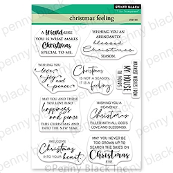 Penny Black - Clear Stamp - Christmas Feeling