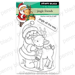 Penny Black - Clear Stamp - Jingle Friends