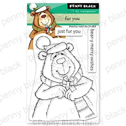Penny Black - Clear Stamp - Fur You