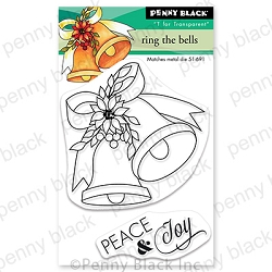 Penny Black - Clear Stamp - Ring the Bells