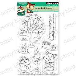 Penny Black - Clear Stamp - Snowfield Friends