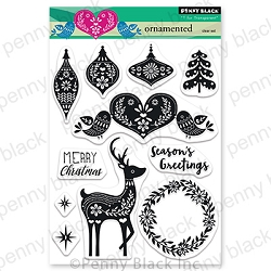 Penny Black - Clear Stamp - Ornamented