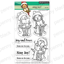 Penny Black - Clear Stamp - Sing Joy