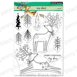 Penny Black - Clear Stamp - My Deer