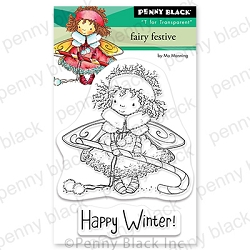 Penny Black - Clear Stamp - Fairy Festive