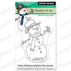Penny Black - Clear Stamp - Kindness & Joy