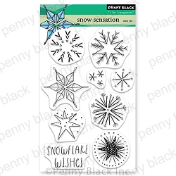 Penny Black - Clear Stamp - Snow Sensation