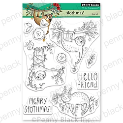 Penny Black - Clear Stamp - Slothmas