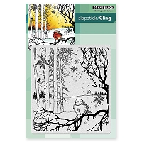 Penny Black - Slapstick Cling Stamp - Winter Song