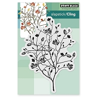 Penny Black - Slapstick Cling Stamp - A Day In Autumn