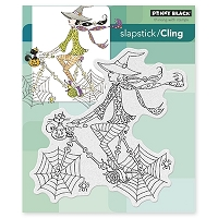 Penny Black - Slapstick Cling Stamp - Spinning By