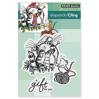 Penny Black - Slapstick Cling Stamp - A Gift For You