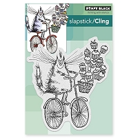 Penny Black - Slapstick Cling Stamp - Sweet Delivery