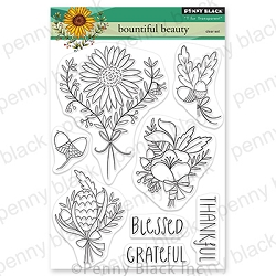 Penny Black - Clear Stamp - Bountiful Beauty