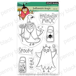 Penny Black - Clear Stamp - Halloween Magic