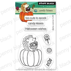 Penny Black - Clear Stamp - Candy Kisses