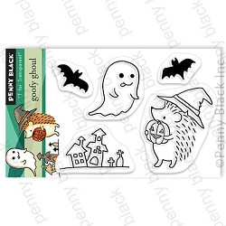 Penny Black - Clear Stamp - Goofy Ghoul