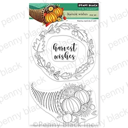 Penny Black - Clear Stamp - Harvest Wishes