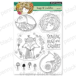 Penny Black - Clear Stamp - Hugs & Cuddles