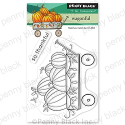 Penny Black - Clear Stamp - Wagonful