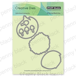 Penny Black - Die - Hugs & Cuddles Cutout