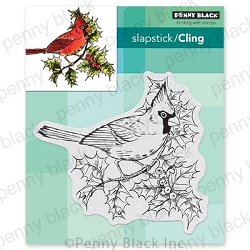 Penny Black - Slapstick Cling Stamp - Ruby Trill