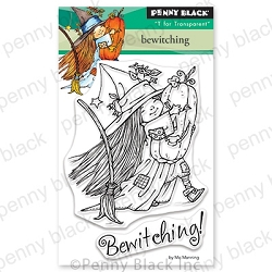 Penny Black - Clear Stamp - Bewitching