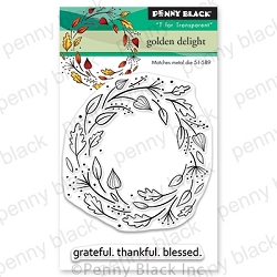 Penny Black - Clear Stamp - Golden Delight