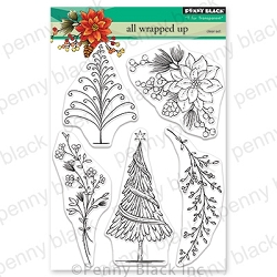 Penny Black - Clear Stamp - All Wrapped Up
