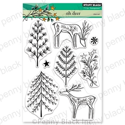 Penny Black - Clear Stamp - Oh Deer