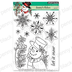 Penny Black - Clear Stamp - Frosty's Flakes