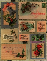 Penny Black - Sticker Sheet - Christmas Holly