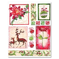 Penny Black - Sticker Sheet - Christmas Everywhere
