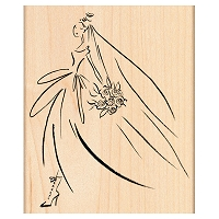 Penny Black Wood Stamp - Bridal March