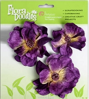 *Petaloo - Velvet Roses - Purple