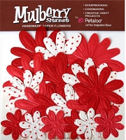 Mulberry Street Embossed Daisies