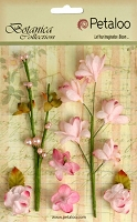 Petaloo - Botanica Collection - Floral Ephemera - Pink