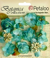 Petaloo - Botanica Collection - Botanica  Mini's X 11 - Teal