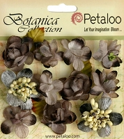 Petaloo - Botanica Collection - Botanica  Mini's X 11 - Gray :)